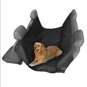 Water resistant hanging seat cover